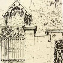 318- Dans le boulevard Thiers à Remiremont