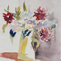 * 463- Le bouquet, 30x 40