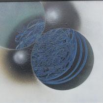 Planetenkuss  80x60cm