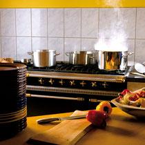 ...hier macht das Kochen Spaß