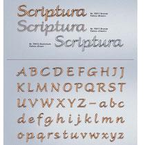 Schrift Scriptura