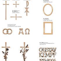 Schrift Schwere Block Kreuze