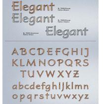 Schrift Elegant