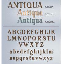 Schrift Antiqua