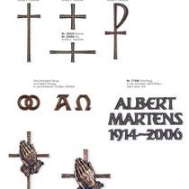 Schrift Rustikal Kreuze