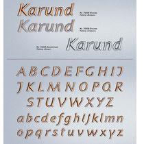 Schrift Karund