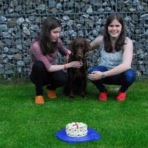 Pie mit Carla und Antonia