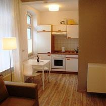 Küche im Komfort Apartment