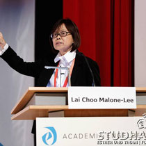 'Choosing Density, Adapting Density'. Speech by Lai Choo Malone-Lee, National University of Singapore. Third and last day of the conference - Dritter und letzter Tag der Konferenz Academia Engelberg 2012: Future Cities/Zukunftsstaedte im Hotel Europe