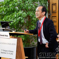 'Science and technology foresight on green innovation and future smart community in Japan'.  Speech by Tomoaki Wada, Tokyo University of Science. Opening of the conference - Eroeffnung der Konferenz 2012: Future Cities/Zukunftsstaedte.