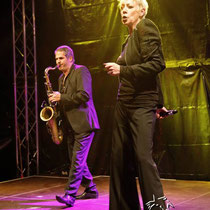 Eve Gallagher mit G-SAX Roland Graf