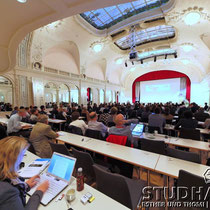Impression of the conference Academia Engelberg 2012. First day of the conference - Erster Tag der Konferenz Academia Engelberg 2012: Future Cities/Zukunftsstaedte im Hotel Europe/Europaeischer Hof.