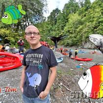 Thomas Ammann, Biologe und ausgewiesener Fischkenner, Abteilung Biodiversität, Projektleiter Riverwatch WWF Schweiz
