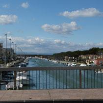 Kanal in Palavas-les-Flots