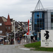 Tourimeile in Büsum