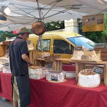 Markt in Saint Martin d´Ardeche