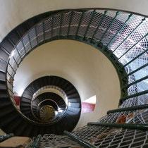 Treppenaufgang im Leuchtturm