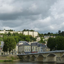 Blick auf das Château von Chinion