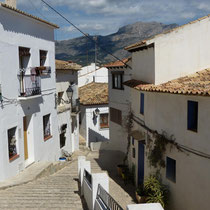 Gasse in Altea