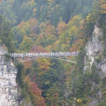 Brücke über die Marienschlucht