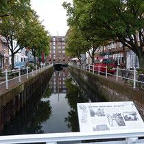 Kanal in Buxtehude