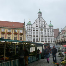 Markt wegen Stadtfest