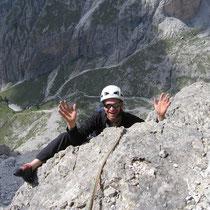 Harald posing...