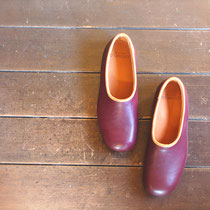 plane shoes plum x almond