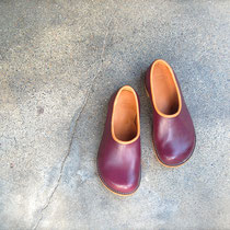 plane shoes / plum x almond
