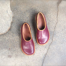 plane shoes / plum x choco