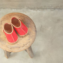 baby moccasin 12cm / red x moca