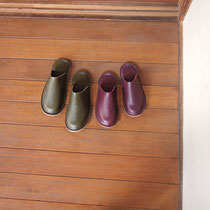 roomshoes#1 for two / olive, plum