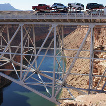 navajo bridge - marble canyon