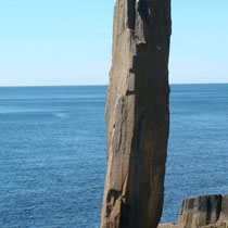 balancing rock - digby neck