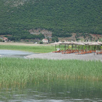 Erlin Camping (bei Lin) - Ohrid See (Albanien)