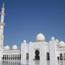 Shaikh Zayed Grand Mosque in Abu Dhabi