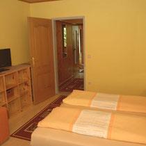 Doppelzimmer mit Blick auf den Vorraum