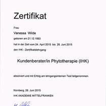 "Zertifikat ""Zubereitung Salicylsäure-Öl ""  | Cronen Apotheke Coesfeld"