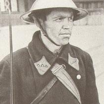 1941 Постовой милиционер в блокадном Ленинграде