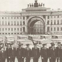 1966 Ленинград. Перед выездом на патрулирование