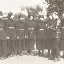 1919 Петроград. Первые женщины-милиционеры