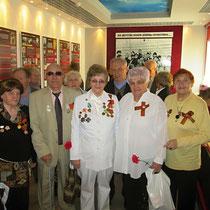 Фотография на память делегатов Фрунзенского района г. Саратова