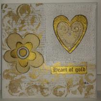 Heart of Gold weiss verkauft