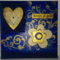 Heart of Gold blau
