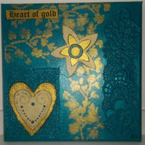 Heart of Gold türkis