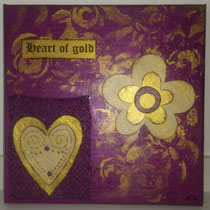Heart of Gold purple