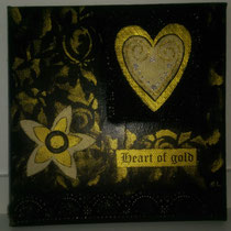 Heart of Gold schwarz