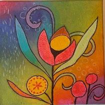 Leucht Blume