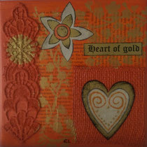 Heart of Gold orange verkauft
