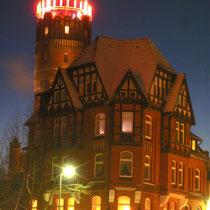 Der Lüneburger Wasserturm zur Adventszeit